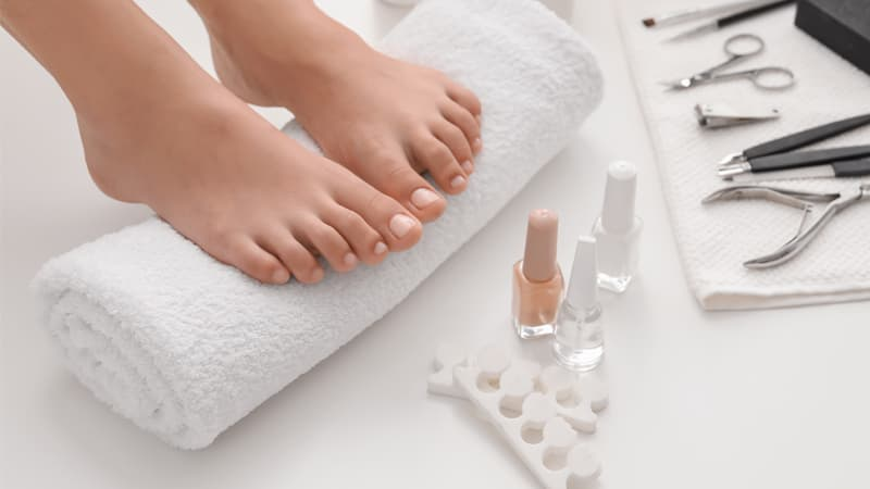 Blog Photo pedicure