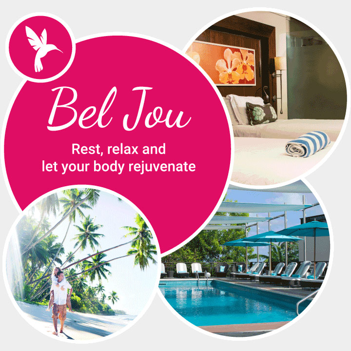 bel jou amenities bubble